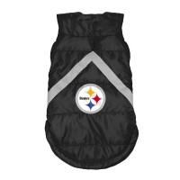 Pittsburgh Steelers Pet Puffer Vest