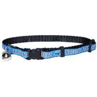 Carolina Panthers Breakaway Cat Collar