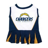 Los Angeles Chargers Cheerleader Pet Dress