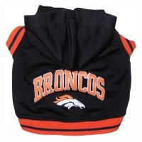 Denver Broncos Pet Hoodie Sweatshirt