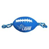 Detroit Lions Pet Nylon Football