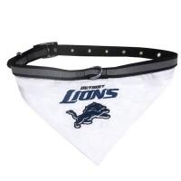 Detroit Lions Pet Collar Bandana