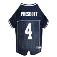 Dak Prescott #4 Pet Jersey