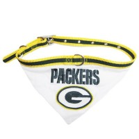 Green Bay Packers Dog Collar Bandana