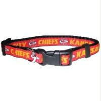 Kansas City Chiefs Pet Collar By Pets First