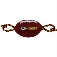 Kansas City Chiefs Pet Nylon Football