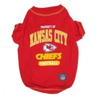 Kansas City Chiefs Pet T-Shirt