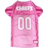 Kansas City Chiefs Pink Pet Jersey