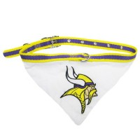 Minnesota Vikings Dog Collar Bandana