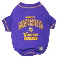 Minnesota Vikings Dog T-Shirt