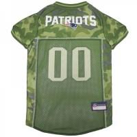 New England Patriots Pet Camo Jersey