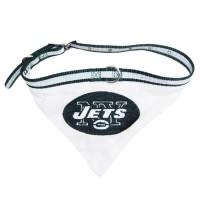New York Jets Dog Collar Bandana