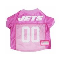 New York Jets Pink Dog Jersey