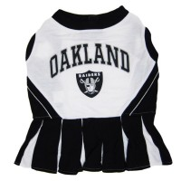 Oakland Raiders Cheerleader Dog Dress
