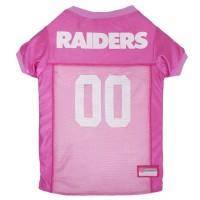 Oakland Raiders Pink Pet Jersey