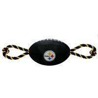 Pittsburgh Steelers Pet Nylon Football