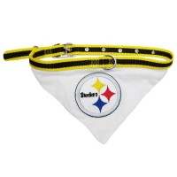 Pittsburgh Steelers Dog Collar Bandana
