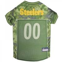 Pittsburgh Steelers Pet Camo Jersey