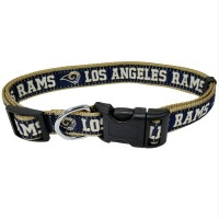Los Angeles Rams Pet Collar By Pets First