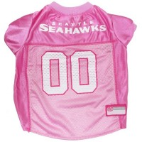 Seattle Seahawks Pink Dog Jersey