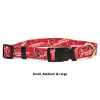 Arizona Cardinals Nylon Pet Collar