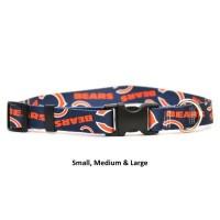 Chicago Bears Nylon Pet Collar