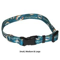 Miami Dolphins Nylon Pet Collar
