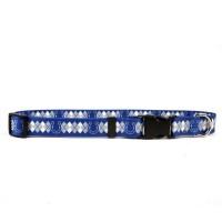 Indianapolis Colts Argyle Nylon Pet Collar