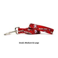 San Francisco 49ers Nylon Pet Leash