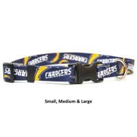 Los Angeles Chargers Nylon Pet Collar