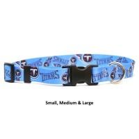 Tennessee Titans Nylon Pet Collar