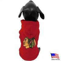 Chicago Blackhawks Pet Hoodie