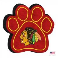 Chicago Blackhawks Paw Squeak Toy