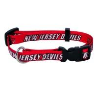 New Jersey Devils Pet Collar