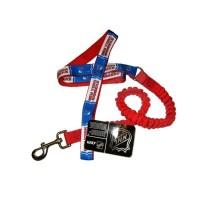New York Rangers Bungee Ribbon Pet Leash