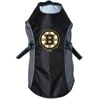 Boston Bruins Water Resistant Reflective Pet Jacket