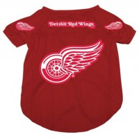 Detroit Red Wings Dog Jersey #2