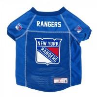 New York Rangers Pet Mesh Jersey