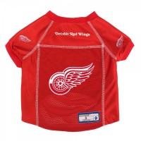 Detroit Red Wings Pet Mesh Jersey