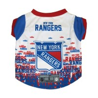New York Rangers Pet Performance Tee
