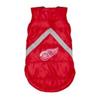 Detroit Red Wings Pet Puffer Vest