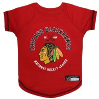 Chicago Blackhawks Pet T-Shirt