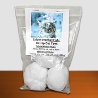Catnip Snowballs - Cat Toy