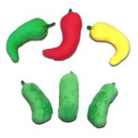 Chili Pepper-Pickle Catnip Toys